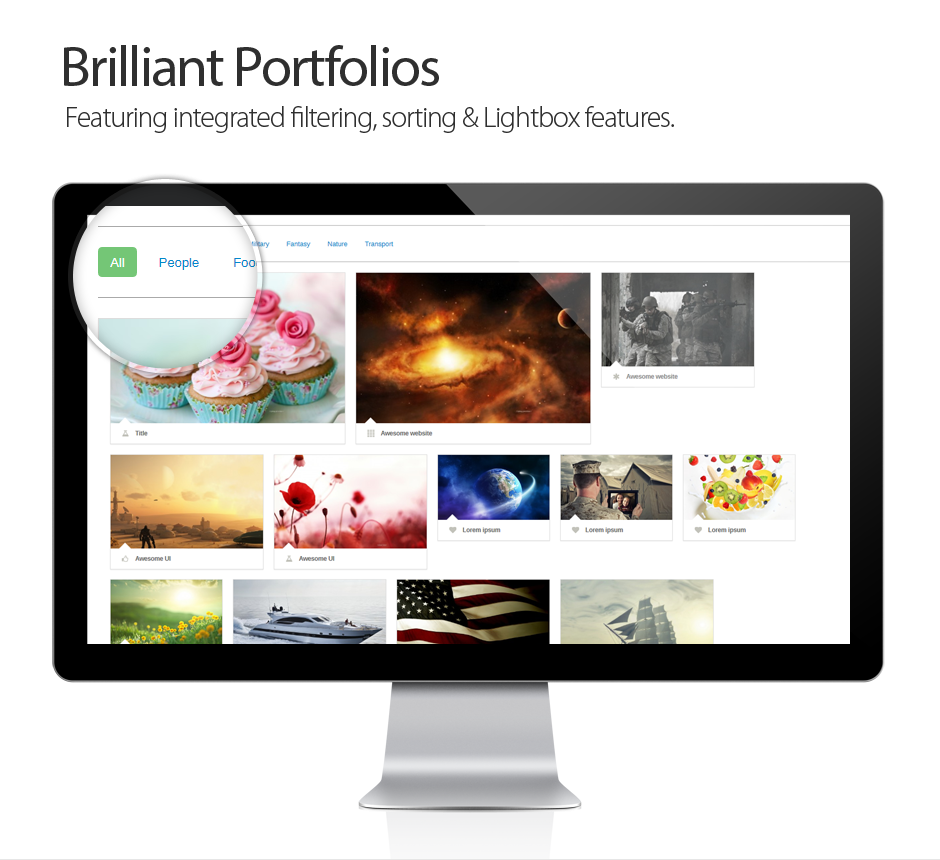 Brilliant Photo Gallery Portfolios