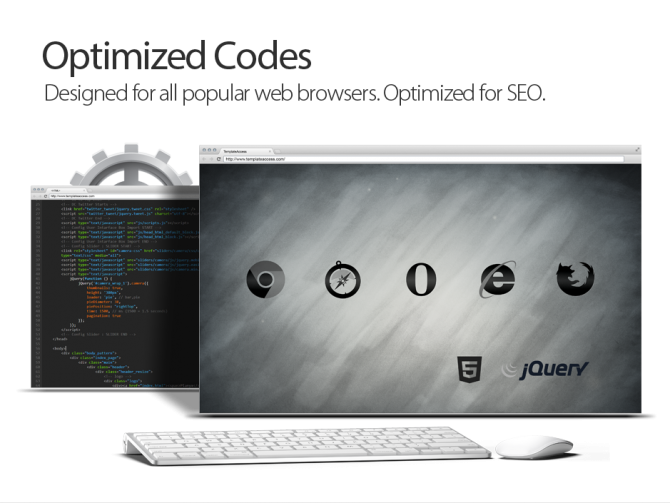 Optimized HTML & CSS Codes